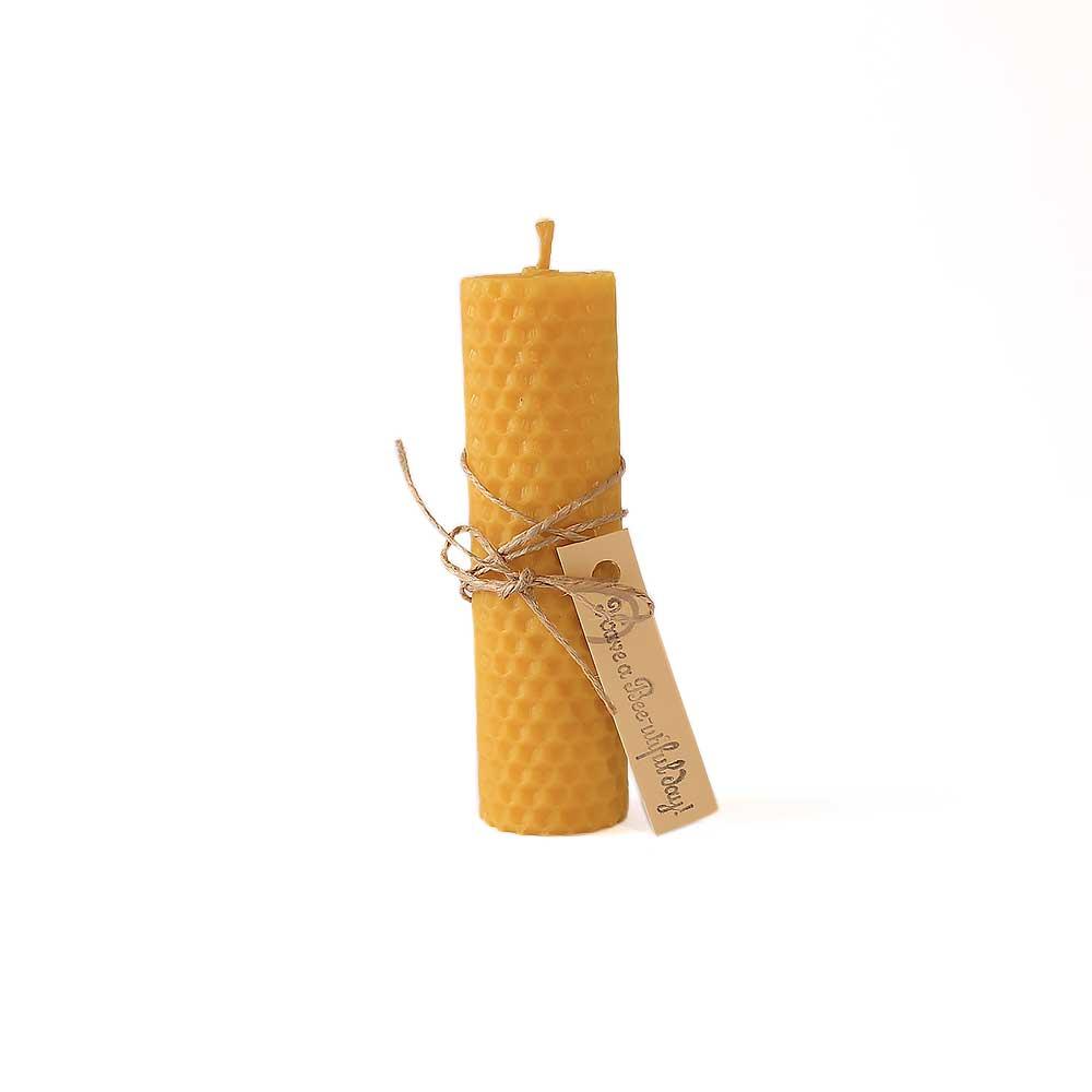 Sveća od pčelinjeg voska, sveća u obliku saća